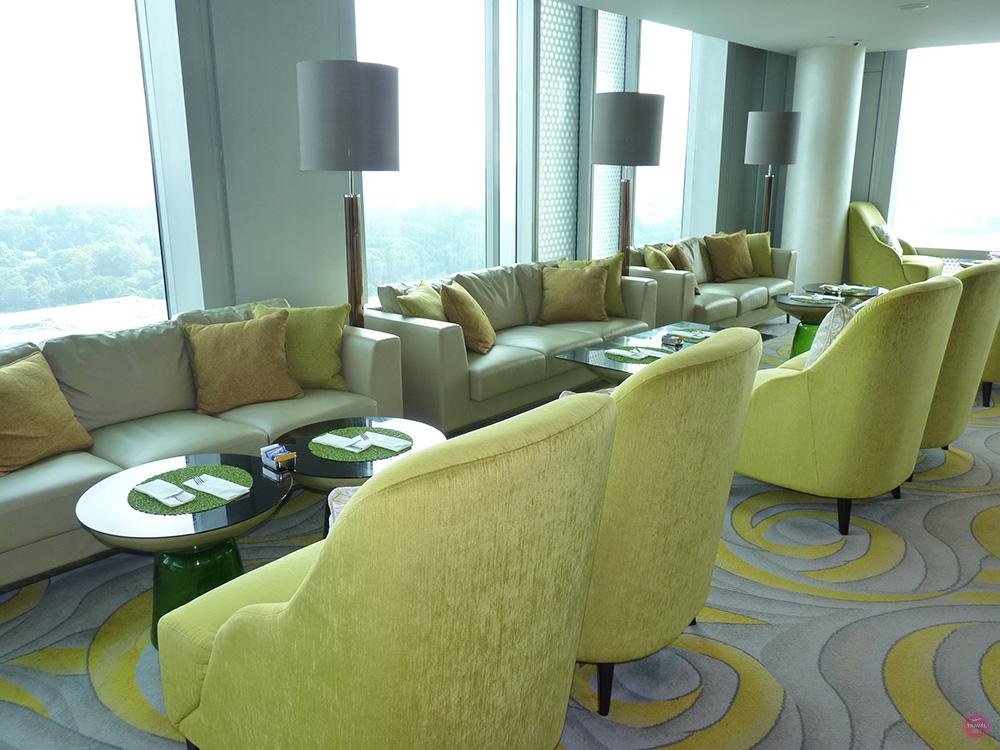 Hotel Jen Orchardgateway Singapur Club Lounge