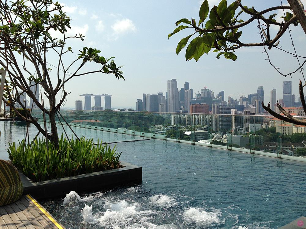 Hotel Jen Orchargateway Singapur Whirlpool
