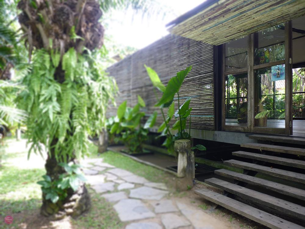 Mein perfekter Tag in Canggu Eingang zum Yoga im Samadi Bali