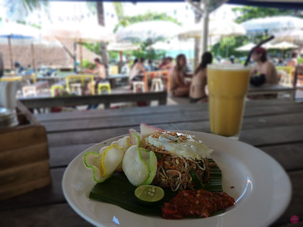 Mein perfekter Tag in Canggu Lunch im Oldman's