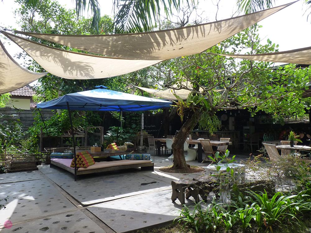 Mein perfekter Tag in Canggu Samadi Bali Garten