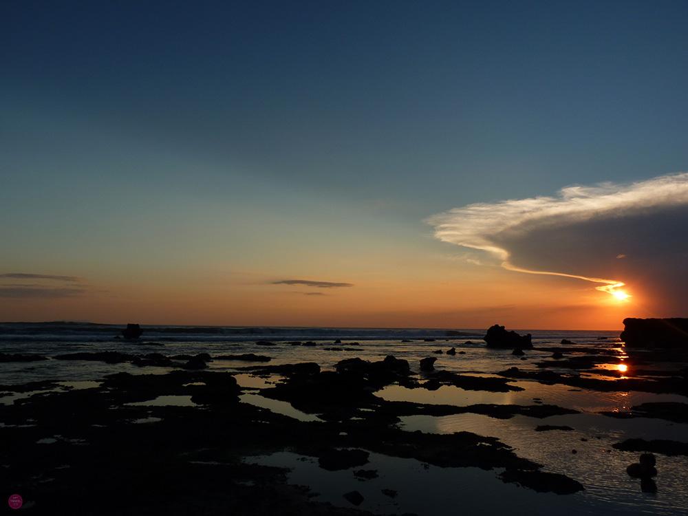 Mein perfekter Tag in Canggu Sonnenuntergang Echo Beach