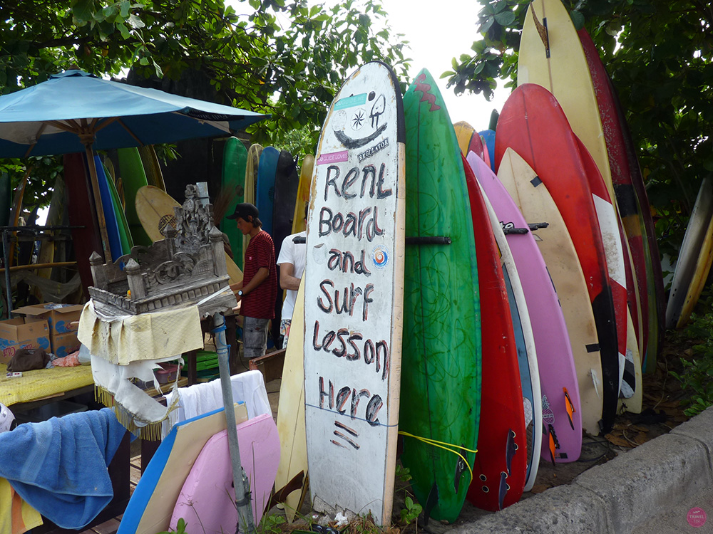Mein perfekter Tag in Canggu Surfen Batu Bolong