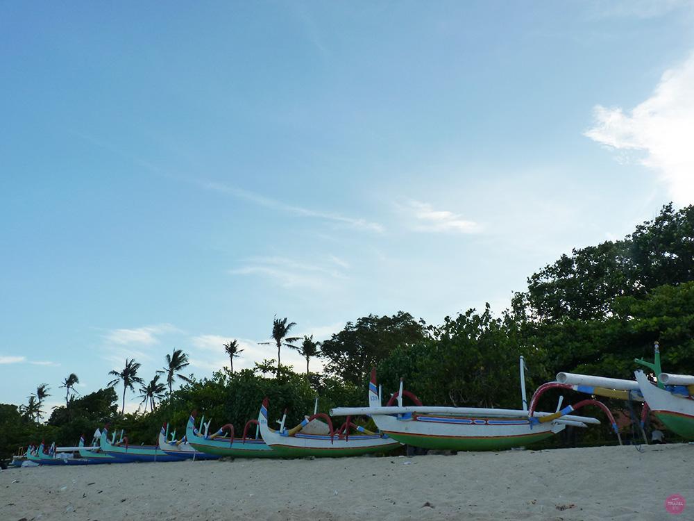 Mit Kleinkind in Bali Sanur Beach
