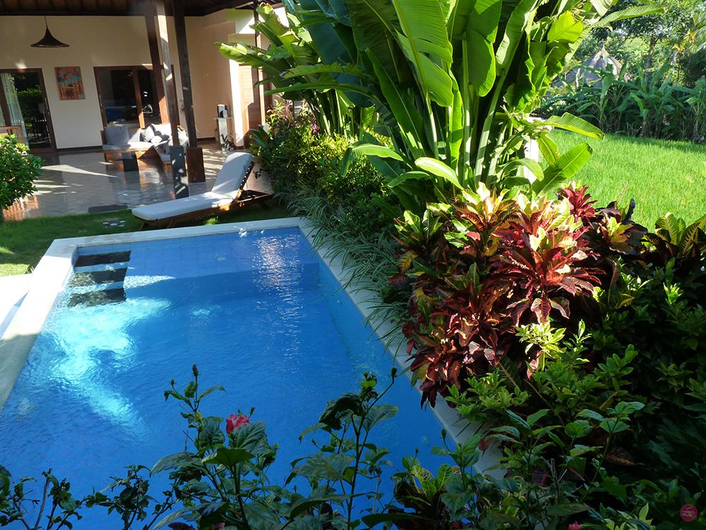 Mit Kleinkind in Bali Unterkunft gebucht bei Airbnb