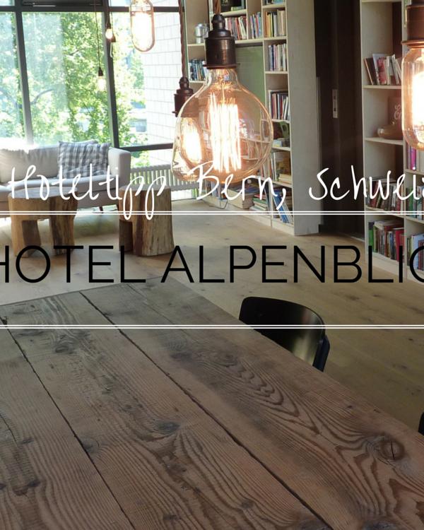Hotel Alpenblick: Schlafen mit Style und Charme in Bern