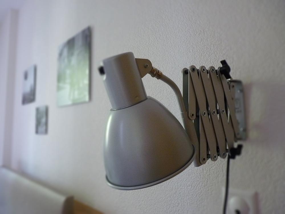 Hotel Alpenblick Bern Nachttischlampe