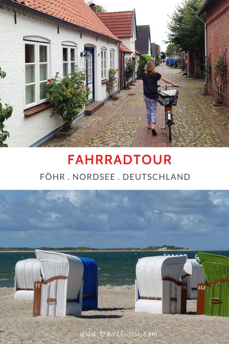 Fahrradtour auf Föhr Nordsee Deutschland