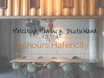 25hours Hotel Hafencity Hamburg Deutschland