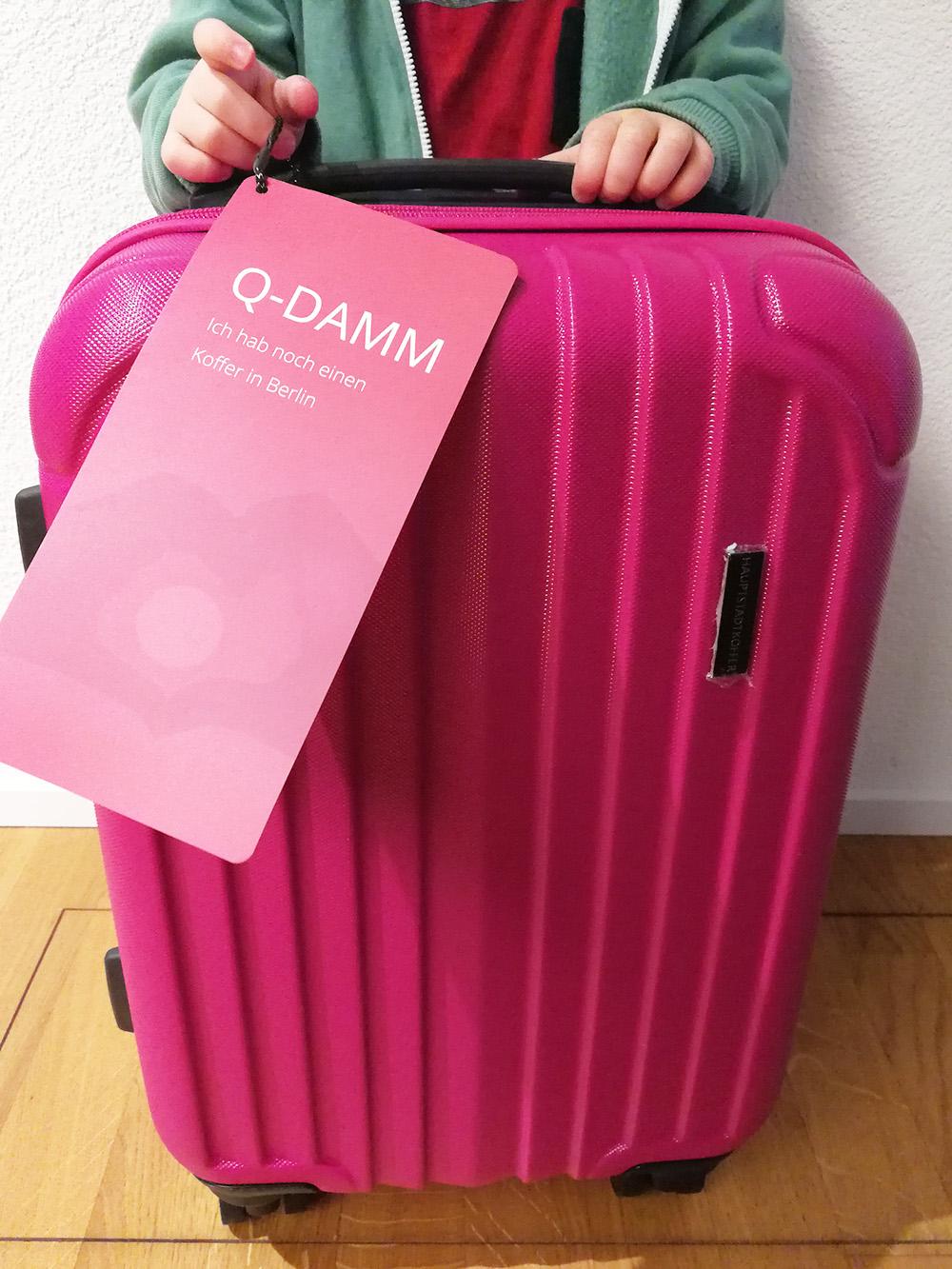 In den neuen Koffer von Koffer.ch verliebt sich jeder