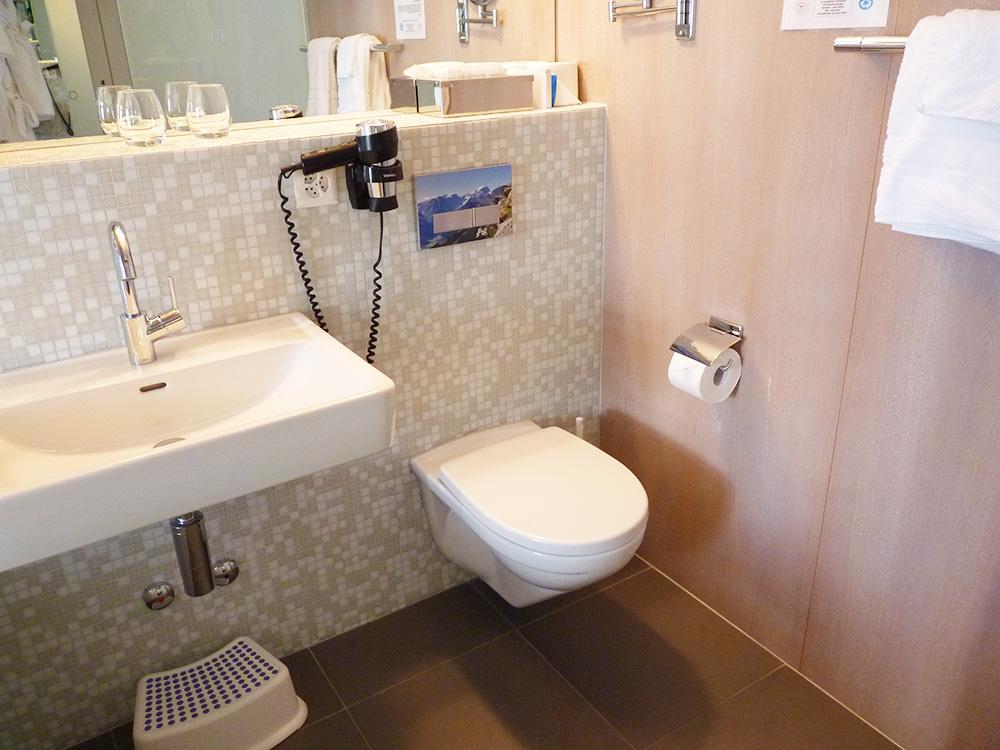 Märchenhotel Bellevue Badezimmer