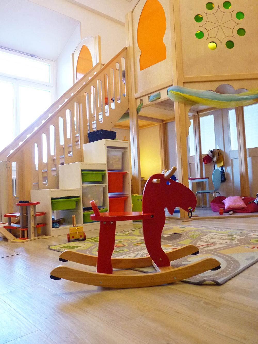 Märchenhotel Bellevue Spielsachen im Märliland