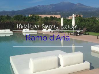 Hoteltipp Sizilien Ramo d'Aria