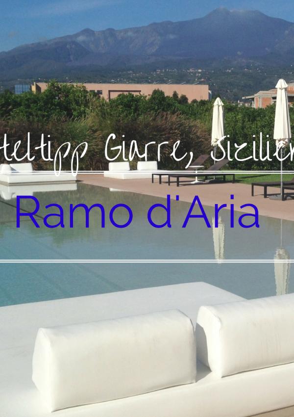 Ramo d'Aria: Designperle in Sizilien