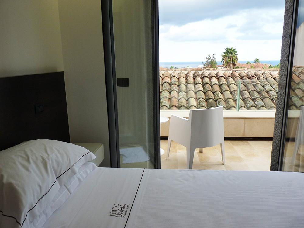 Ramo d'Aria Blick aufs Meer vom Zimmer