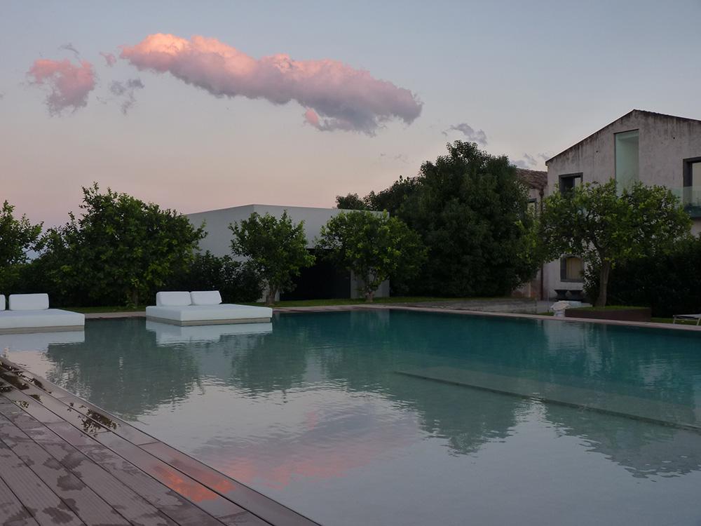 Hoteltipp Sizilien Ramo d'Aria Sonnenuntergang