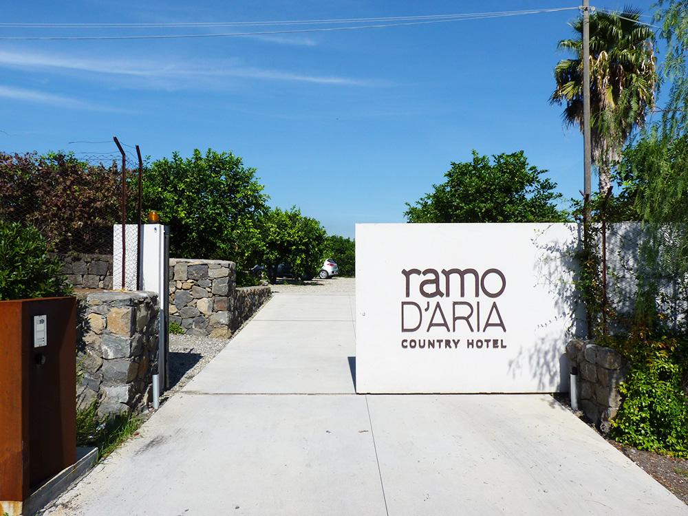Ramo d'Aria Eingangstor