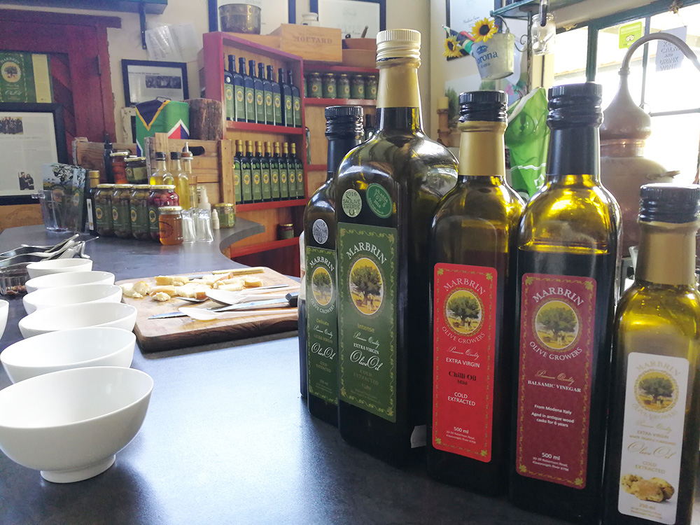 Reisetipps Robertson Marbrin Olivenfarm Tasting