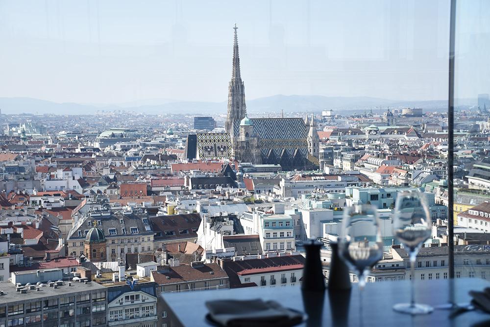 Insidertipps Wien Aussicht vom Das Loft im Sofitel
