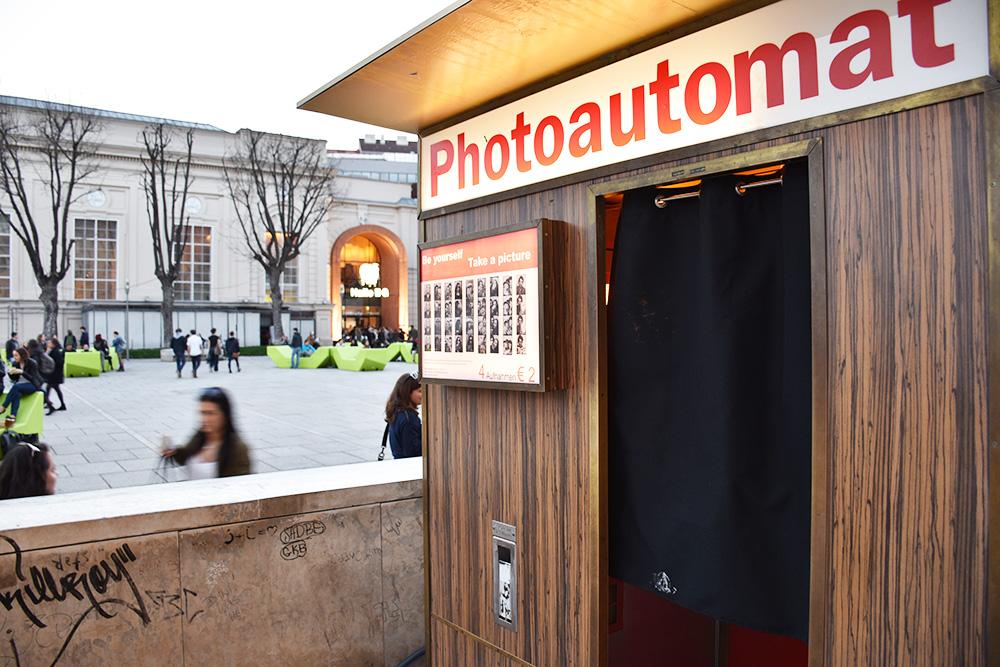 Insidertipps Wien Photoautomat Museumsquartier