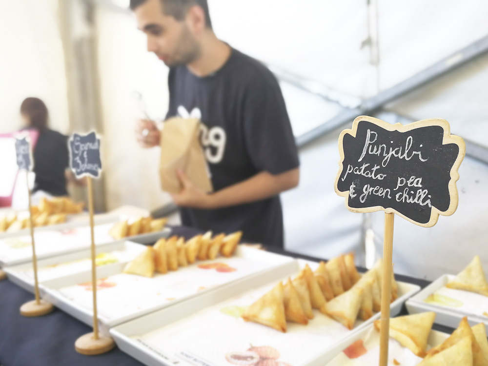 Kapstadts beste Märkte OZCF at Granger Bay leckeres Essen