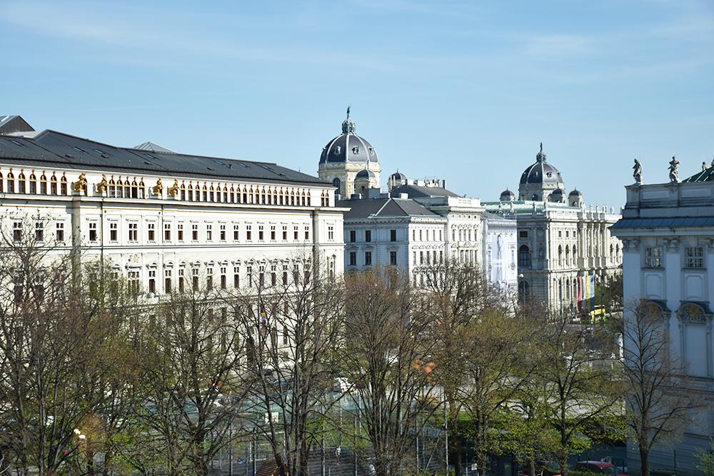 25hours Hotel Museumsquartier Wien Aussicht vom Zimmer