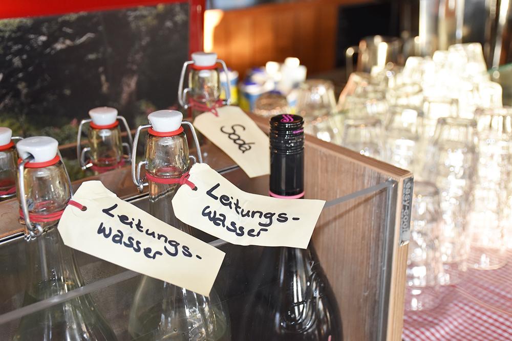 25hours Hotel Museumsquartier Wien Getränke zum Frühstück