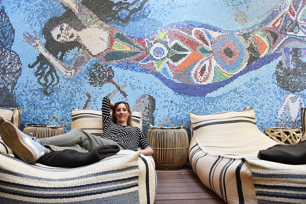 25hours Hotel Museumsquartier Wien chillen im Spa
