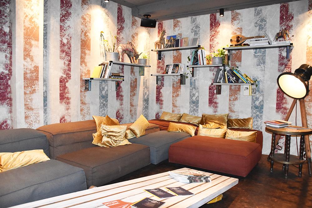 25hours Hotel Wien Museumsquartier Lounge