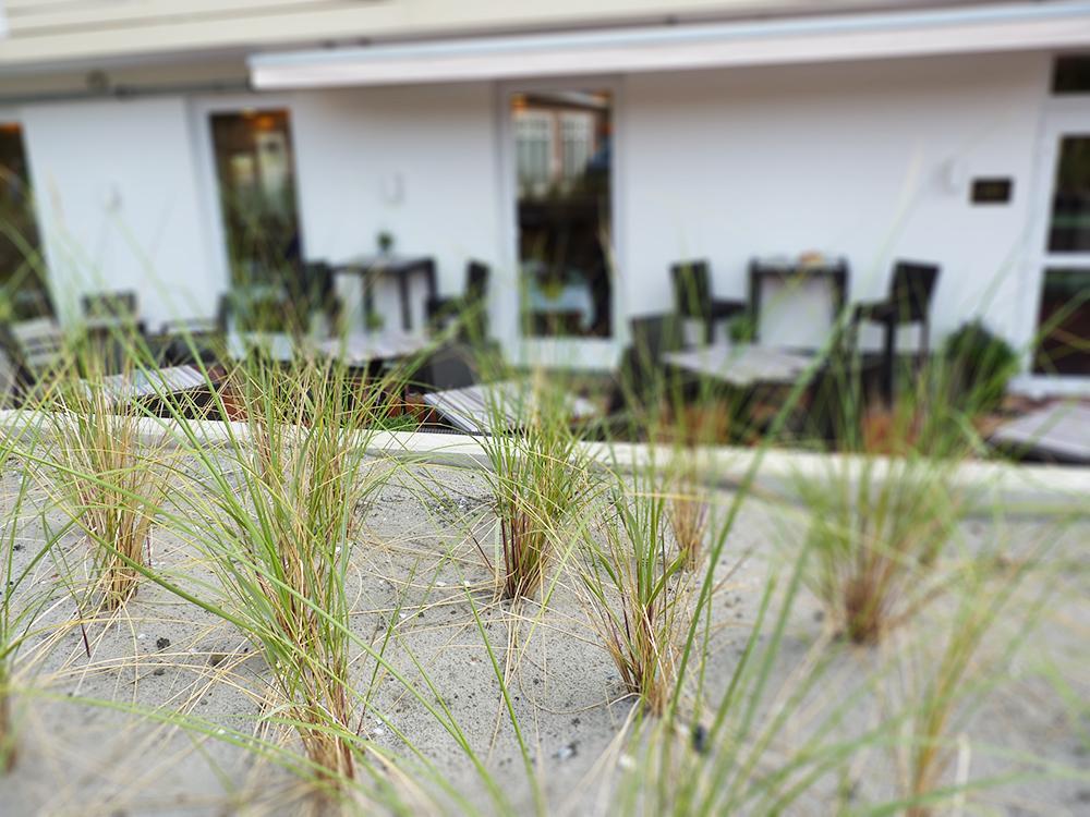 Hoteltipp SPO Bude54 Frühstücksterrasse