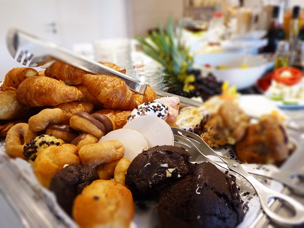 Hoteltipp SPO Bude54 leckeres Gebäck zum Frühstück