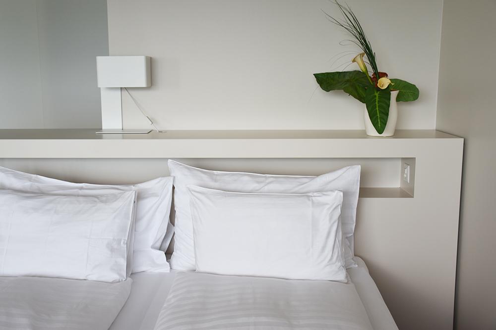 Hotel Lavaux Bett mit Aussicht