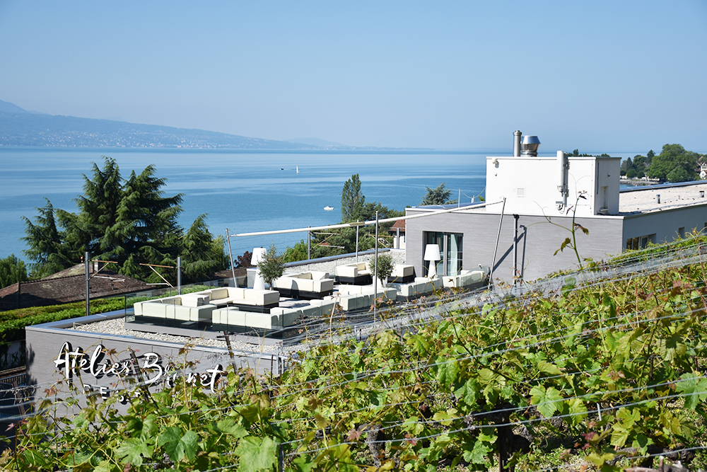 Hotel Lavaux in Cully am Genfersee
