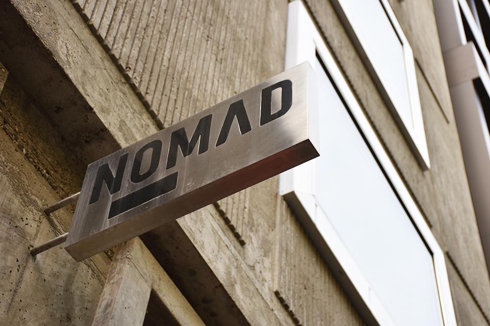 Hoteltipp Nomad Basel Eingang ins Hotel