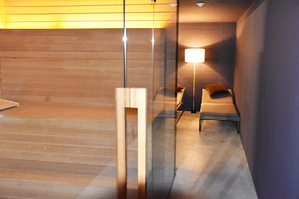 Hoteltipp Nomad Basel Sauna und Ruheraum