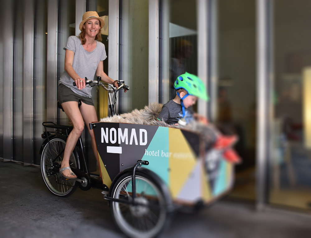 Hoteltipp Nomad Basel Travel Sisi mit dem Velo