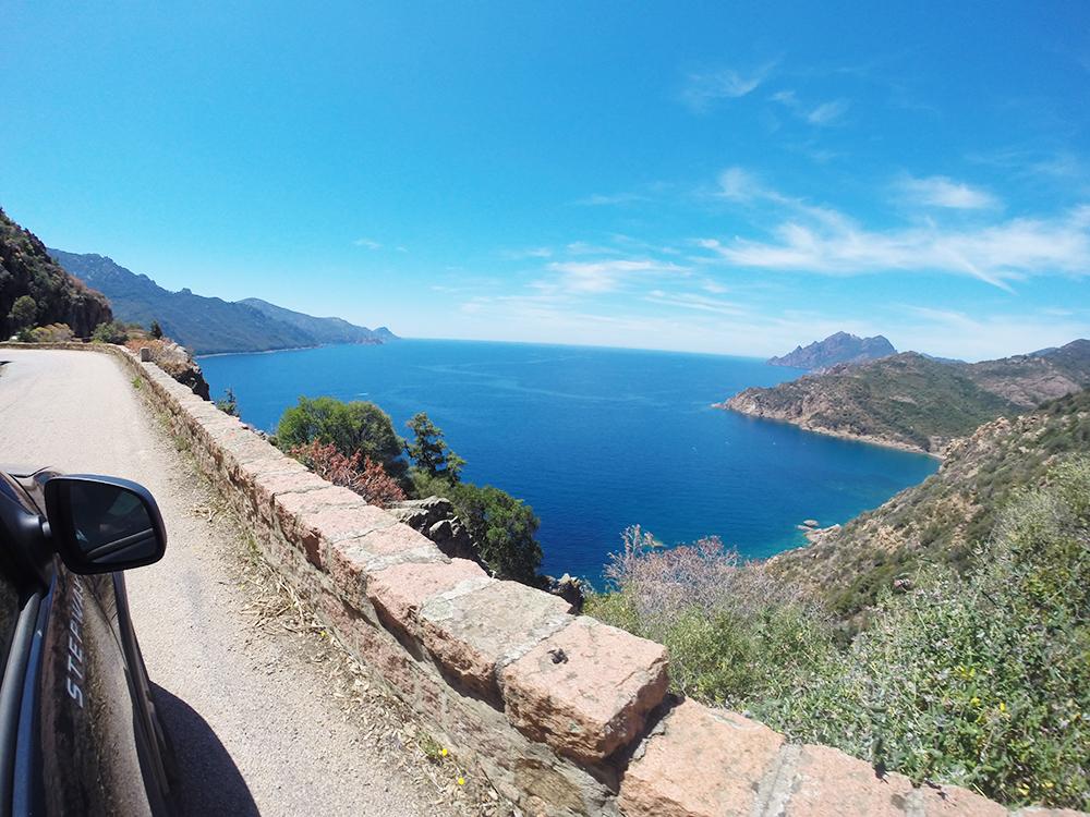 Reisetipps Korsika Küstenstrasse