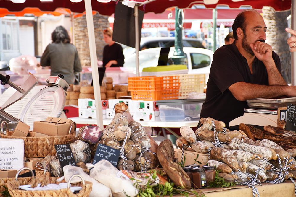 Reisetipps Korsika Markt in Ajaccio