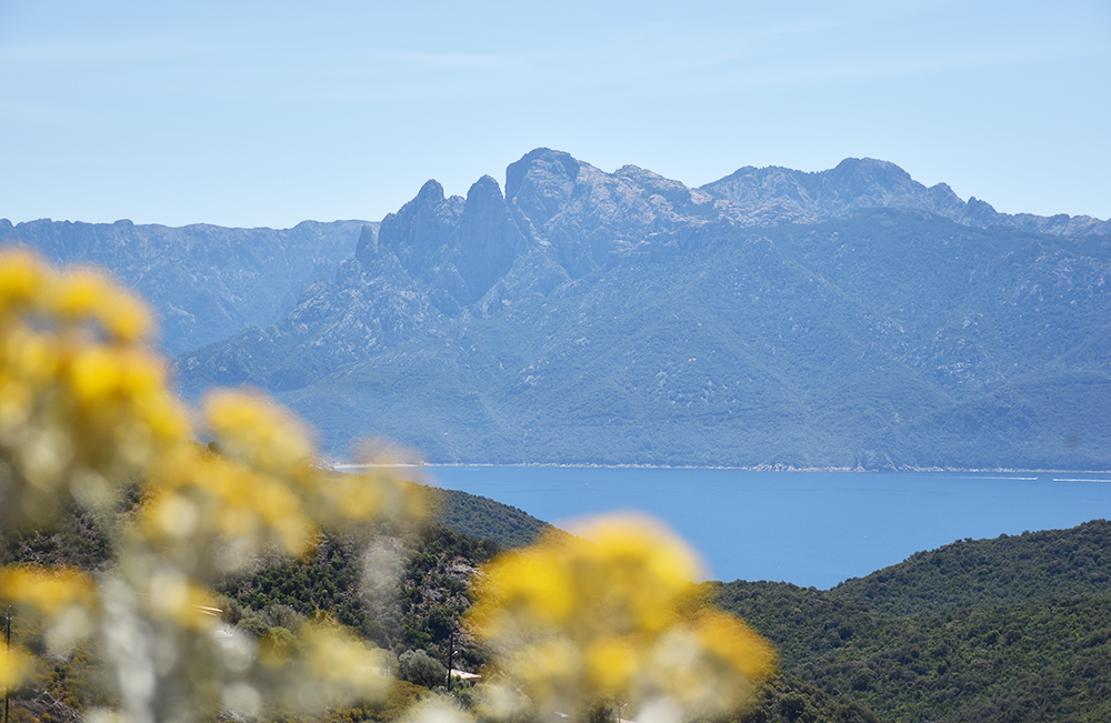 Reisetipps Korsika Meer und Berge