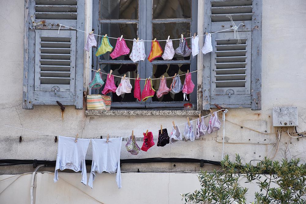 Reisetipps Korsika Wäscheleine in Ajaccio