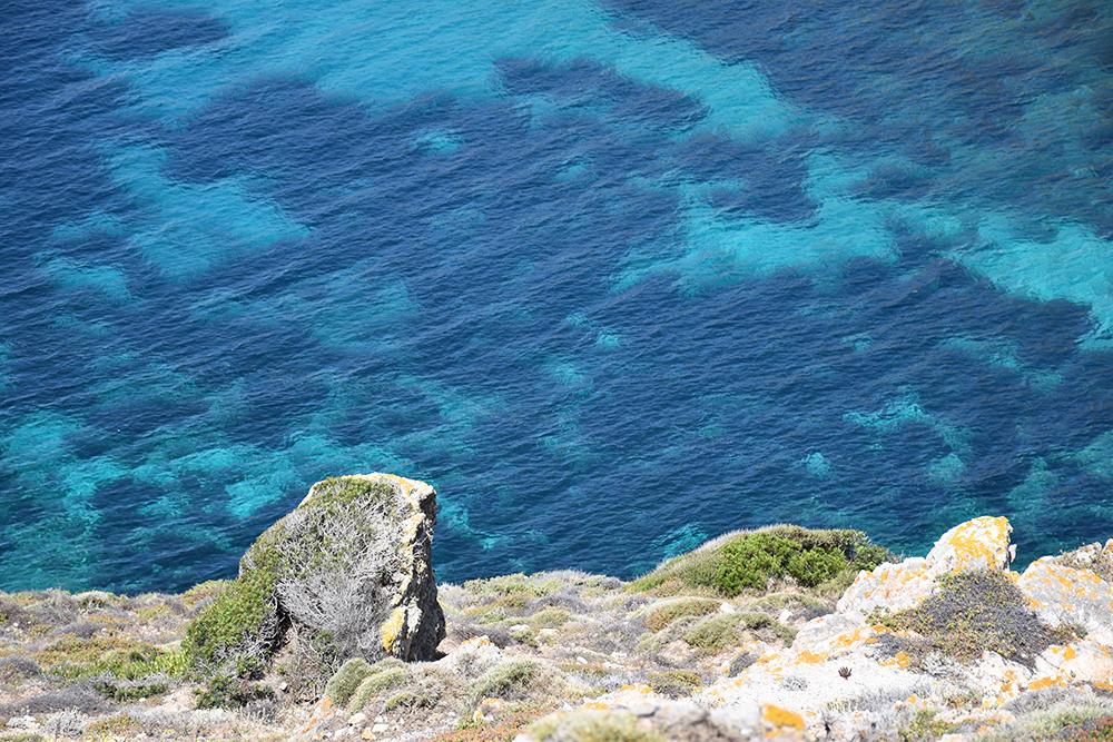 Reisetipps Korsika herrliches Wasser auf der Halbinsel Revellata