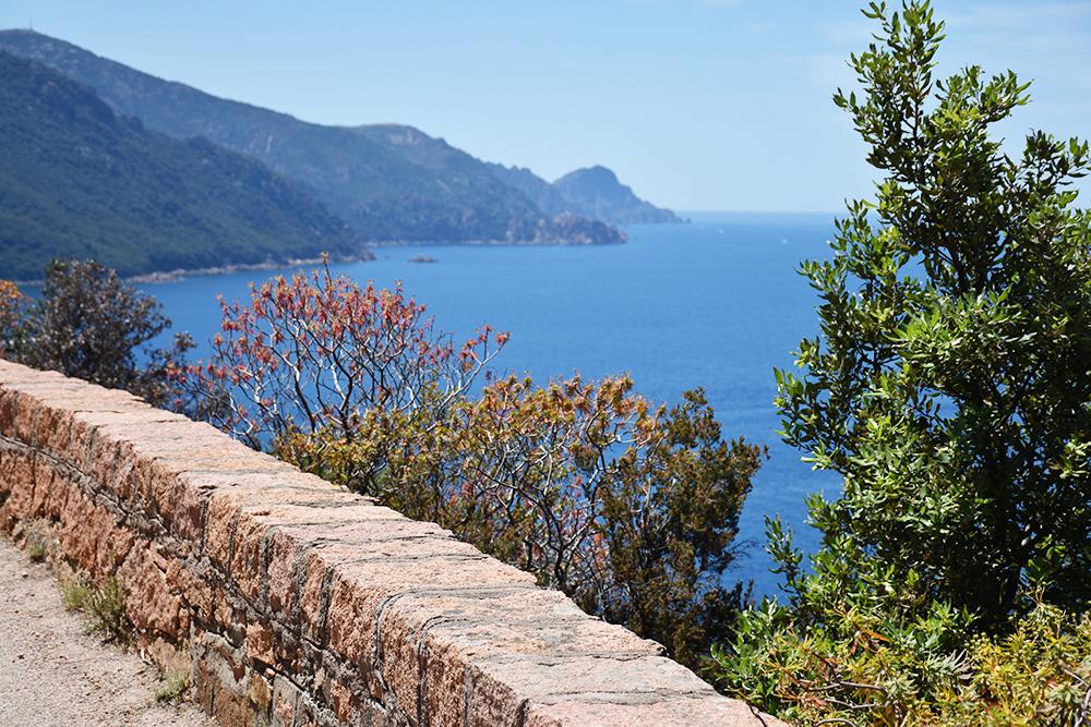 Reisetipps Korsika wunderbare Sicht aufs Meer