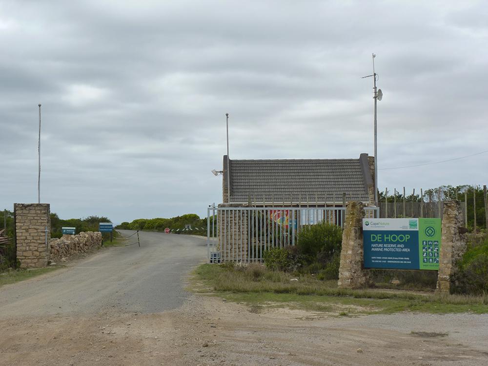 De Hoop Nature Reserve Gate