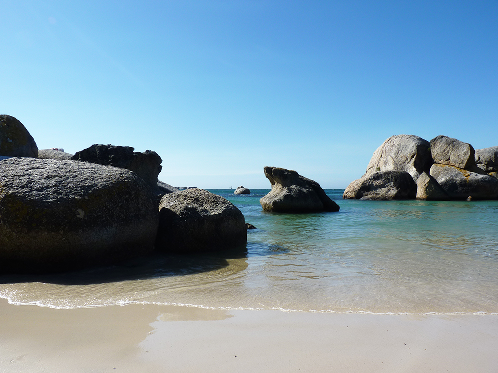 Kapstadt mit Kleinkind Boulders Beach