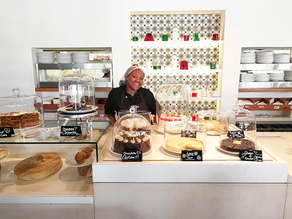 Kapstadt mit Kleinkind Companys Garden Cafe