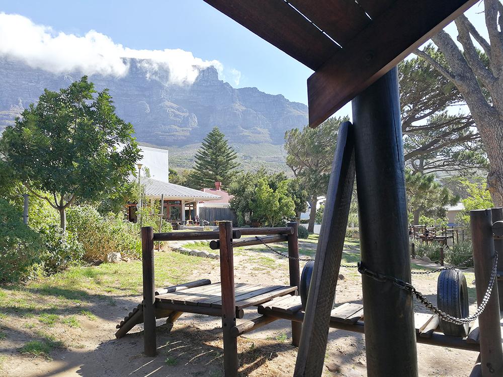 Kapstadt mit Kleinkind Deer Park Cafe