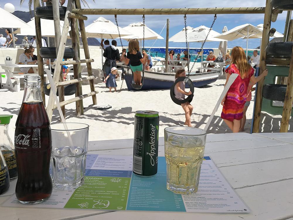 Kapstadt mit Kleinkind Dunes in Hout Bay