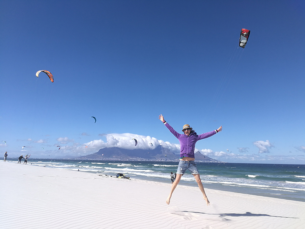 Kapstadt mit Kleinkind Travel Sisi am Bloubergstrand