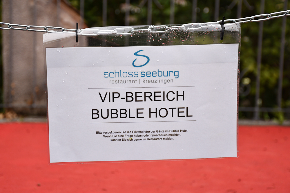 Thurgauer Bubble-Hotel VIP