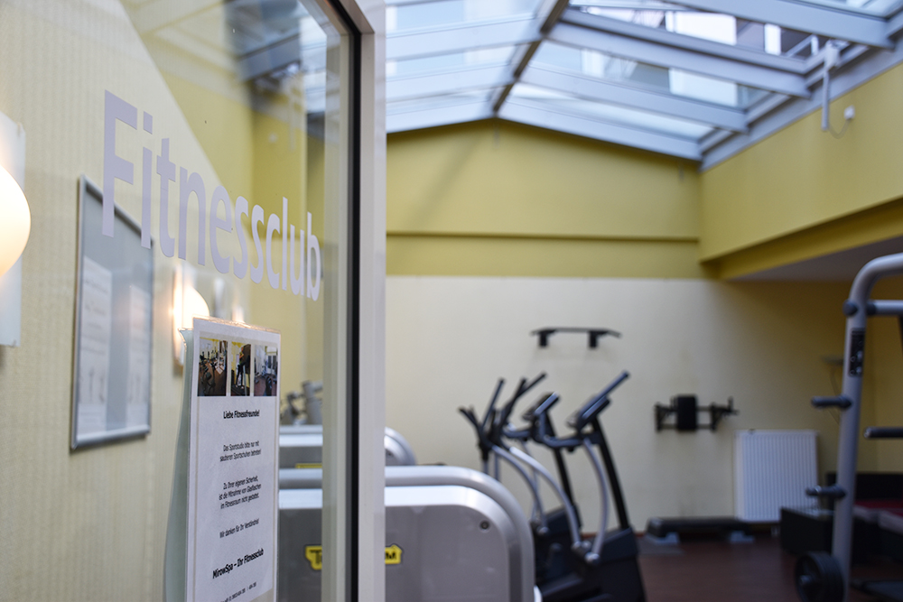 Aparthotel Seepanorama Mirow Fitnessraum